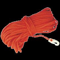 Rettungsschwimmleine aus Polypropylen mit Kunststoff Schnapphaken