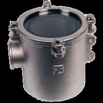 allpa Nickel-beschichtetes Messing Kühlwasserfilters (robust) mit NIRO 316 Filter