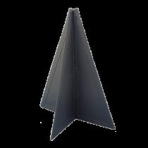Kunststoff Signalkegel, zusammenlegbar, 470x330mm, Schwarz