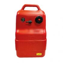 allpa Kraftstofftank Kunststoff 22l, mit Anzeige