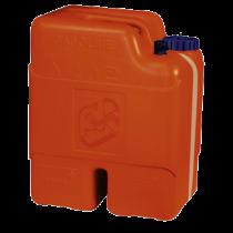 Kunststoff Aussenbordmotortank / Kraftstoffkanister Kunststoff 22l, mit Aussenseitliche Inhaltsanzeige und reserve