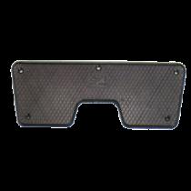Heckspiegelschutzplatte ( Innenseite ), Schwarz