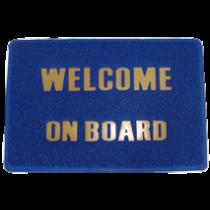 """Fussmatte """"welcome on board"""""""