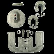 Aluminium Anode Kit Navalloy, Bravo-2, 1989 - Present & Bravo-3, 1989 - 2003