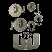 Aluminium Anode Kit Navalloy, Bravo-3, 2004 - Present