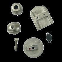 Aluminium Anode Kit Navalloy, Alpha-1-Gen I, 1983 - 1990