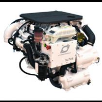 Hyundai Schiffsdiesel S270P TURBO & intercooler, Technodrive Wendegetriebe TM880A, Untersetzung 1.53:1