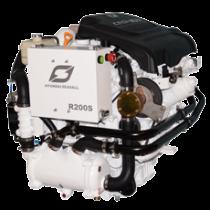 Hyundai Schiffsdiesel R200 Ladeluftkühler & Wärmetauscher