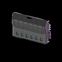 allpa spritzwasserdicht Schalttafel 12V, ABS, mit auto fuse and LED Indikatoren