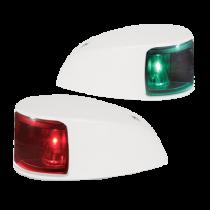 Hella NAVILED® SATZ Backbord/Steuerbord Laterne, 2NM, IP67, Weiß Gehäuse
