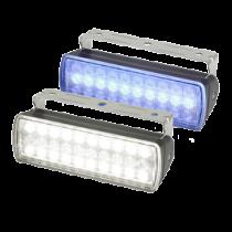 Hella Sea Hawk XL Suchscheinwerfer - Breitstrahlende Lins, Schwarz, IP67, 750 lumen (weiß 12W/blau 4W)