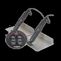 Elektrisches Trimmklappensysteme mit Positionsanzeige