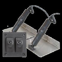Elektrisches Trimmklappensysteme ohne Positionsanzeige