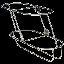 NIRO Fenderkorbe, schräges Modell für 2 Fender