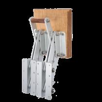 Aluminium Klapbare Aussenbordmotorhalterung ( max. 50kg ) ( mit stabilem Doppelrahmen )
