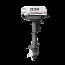 Selva BB-Motor Sea Bass 4-Takt Typ SI C 6 PS Handstart (interner Tank)
