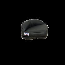 Plug-in Pro Stand-Up Sitz aus Schwarzem Vinyl mit Kunststoff Basis
