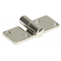 NIRO Scharnier abnehmbar, 92x37mm, Ø5mm