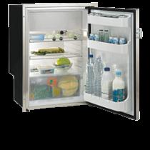 """NIRO AISI 316 Einbaukühlschrank """"Sea Steel"""" mit integriertem Kompressor"""
