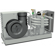 allpa Marine Klimaanlagen Modell-9000 mit doppeltem Luftauslaß
