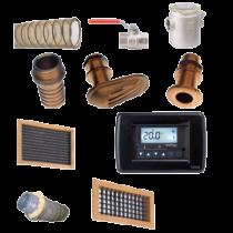 Ersatzteile Marine Klimaanlagen Modell-9000 mit doppeltem Luftauslaß