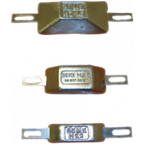 Zinkanode mit Streifen für Bolzenmontage, Typ HZ-2, 165x30mm ( 0,20kg )