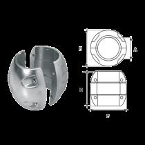 Aluminium Wellenanoden, kugelförmig