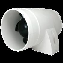 Motorraum Ventilator, 12V, 3,0A, 90-120m³/Std., Inline Ventilator