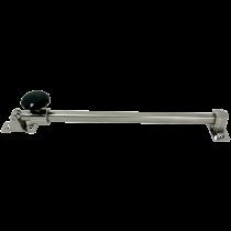 NIRO Lukenhalter, teleskopisch, A-min 300mm / A-max 430mm, B=13mm