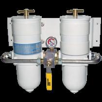 Racor Double Marine Turbine Filters CE-gekeurd (ISO 11088 & 10088)