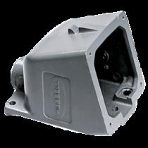 CEE-32A Aluminium Aufbaugehäuse für Wandeinbaustecker 089322