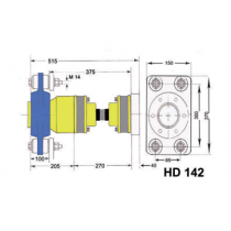 a-flex Homokinetische Antriebsysteme Modell HD-142