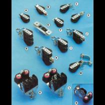 allpa Kunststoff Blöcke mit NIRO-verstärkten Wangen, 8mm