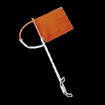 NIRO Verklicker mit rotem Standertuch