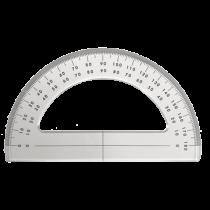 Plexiglas Goniometer / Winkelmesser 180°