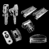 Ersatzteile und Befestigungsmaterial Badeleiter