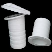 Kunststoff Drahtdurchmesser mit Klappe