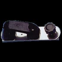 allpa NIRO Genua-Schlitten mit leitöse und Rasterstift für U-förmige Leitschiene