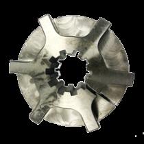 Nabe Dämpferplatte 10-Zähne, H=37mm. Länge ab Schwungrad 31mm