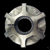 Nabe Dämpferplatte 26-Zähne, H=37mm. Länge ab Schwungrad 31mm
