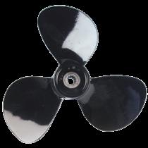 allpa 3-Blatt Aluminium linksdrehende Propeller mit spezielle Nabe für Selva Saildrive