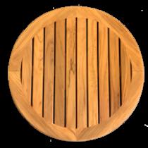 Teakholz Tischblatt Ø610mm