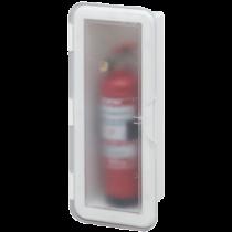 Kunststoff Feuerlöscher Halter mit Klarsichtdeckel