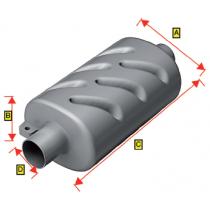 allpa Kunststoff Schalldämpfer