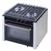 allpa NIRO Einbau-Ofen mit 2-Brennern