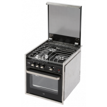NIRO Einbau-Ofen mit Grill und 3-flammiger Kochplatte