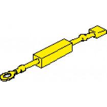 Widerstand für Drehzahlmesser und Elektrische Geschwindigkeitsmesser ( 24V-->12V )