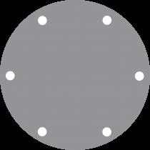 Johnson Pump Bronze Deckel für Pumpe F7 ( ersetzt Jabsco 3993 )