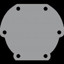 Johnson Pump Bronze Deckel für Pumpe F4 ( ersetzt Jabsco 29475 )