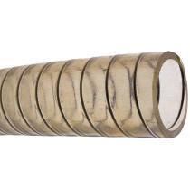allpa PVC Kaltwasserschlauch, transparent mit stälerner Spirale